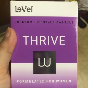 Le-Vel Thrive Female Capsules and Shake (Only)